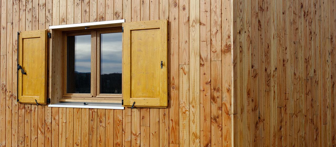 Bardage en bois traditionnel l gie biaise 45 achat et - Nature bois concept rochefort ...