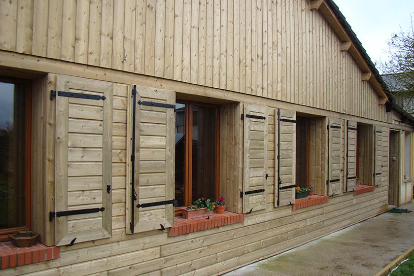 bardage epicea pour bardage en bois achat et devis nature bois concept. Black Bedroom Furniture Sets. Home Design Ideas