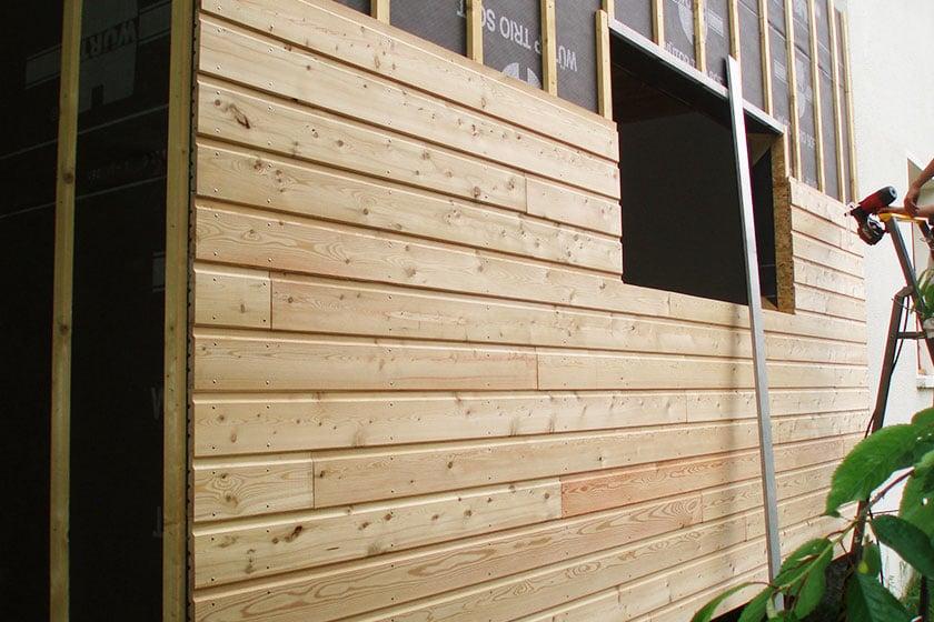 bardage m l ze pour bardage en bois achat et devis nature bois concept. Black Bedroom Furniture Sets. Home Design Ideas
