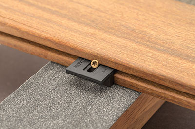 fixation invisible terrasse hardwoodclip