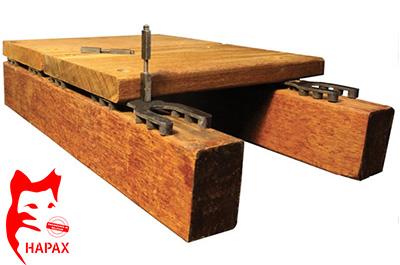 conseils sur les fixations pour terrasse bois nature bois concept. Black Bedroom Furniture Sets. Home Design Ideas