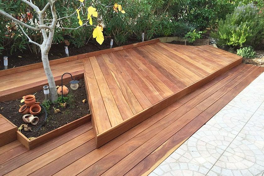 Terrasse bardage cl ture devis en ligne nature bois concept - Acide oxalique terrasse bois ...