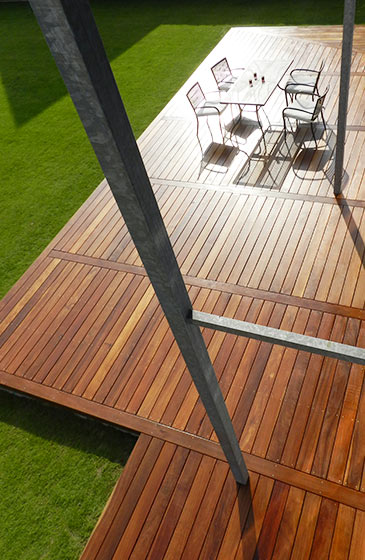 lame en bois cumaru pour terrasse - nature bois concept