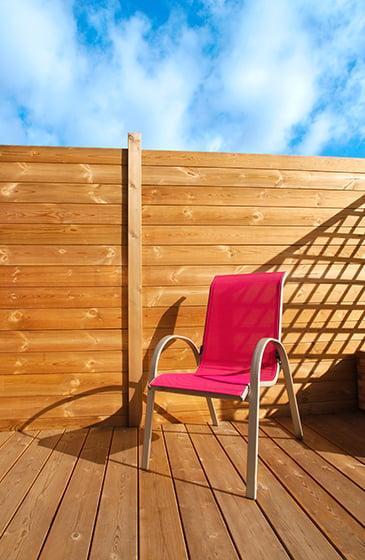 terrasse en bois en douglas fran ais nature bois concept. Black Bedroom Furniture Sets. Home Design Ideas