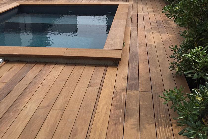 terrasse en bois exotique ipe nature bois concept. Black Bedroom Furniture Sets. Home Design Ideas