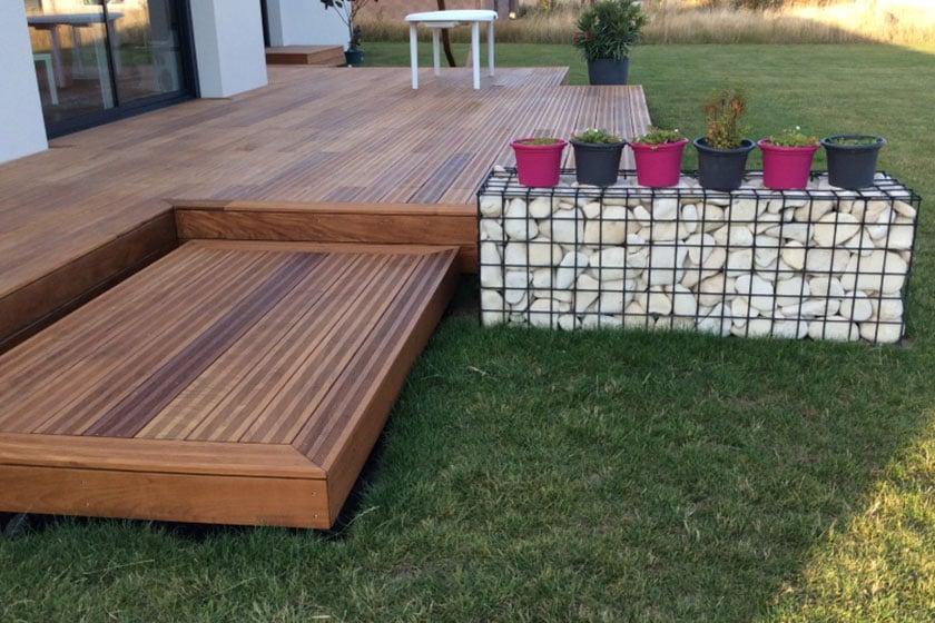 lame de terrasse en pica excellent latest elegant excellent charmant lame de terrasse brico. Black Bedroom Furniture Sets. Home Design Ideas
