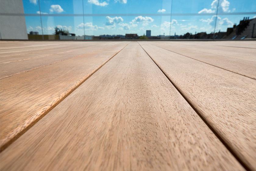 Lame de bois padouk pour terrasse nature bois concept - Nature bois concept rochefort ...
