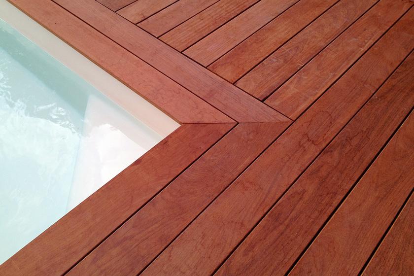 Lame de bois padouk pour terrasse nature bois concept - Terrasse bois padouk ...