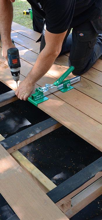 terrasse bois – lame et dalle pour plancher - nature bois concept
