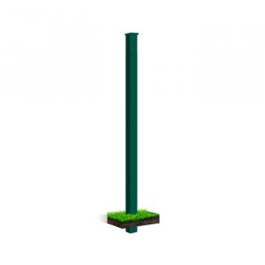 Clôture rigide poteau à sceller Nature Bois Concept Vert 2.33m
