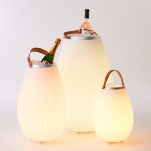 Enceinte lumineuse bluetooth - Seau à champagne Joouls