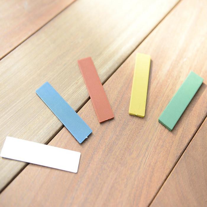Cales plates Hapax pour terrasse bois
