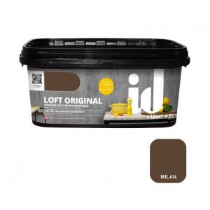 LOFT Original - Peinture à effet béton graphique - Milan