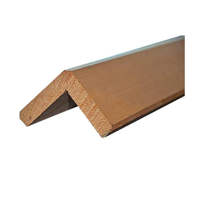 Corni u00e8re d'angle pour bardage en Pin traité # Angle Bardage Bois