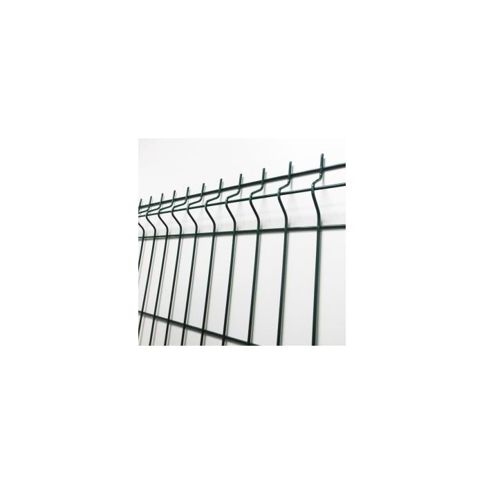 cl ture rigide panneau gris hauteur 1m23. Black Bedroom Furniture Sets. Home Design Ideas