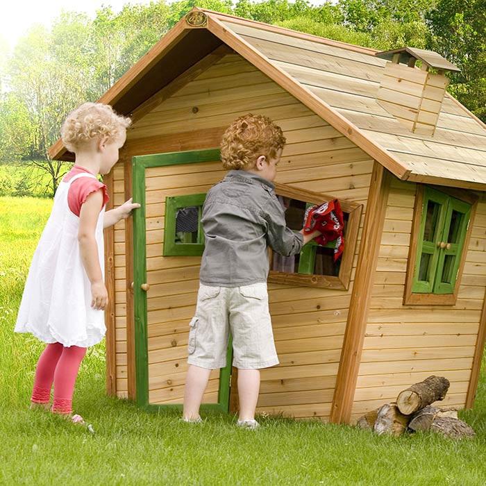 maisonnette en bois pour enfant mod le alice par axi. Black Bedroom Furniture Sets. Home Design Ideas