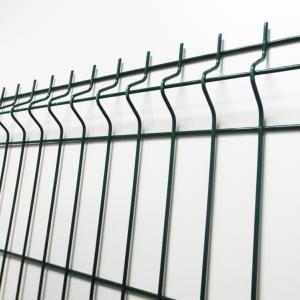 Panneau de clôture rigide vert ral 6005 1,73 m