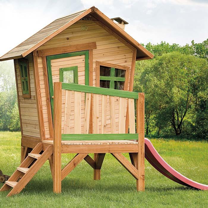 maisonnette en bois pour enfant mod le robin par axi. Black Bedroom Furniture Sets. Home Design Ideas