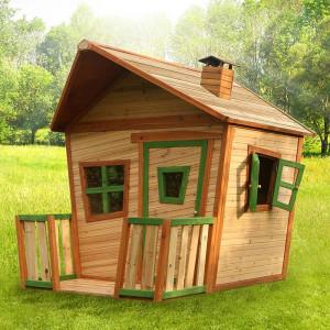 Cabane en bois et terrasse pour enfant - Jesse