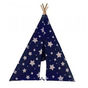 Tente tipi pour enfant avec étoiles phosphorescentes - Cosmo