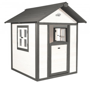 Cabane en bois pour enfant - Sunny Lodge blanc
