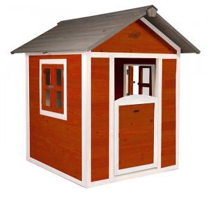 Cabane en bois pour enfant - Sunny Lodge rouge
