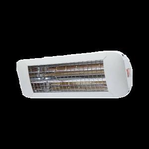 Chauffage d'extérieur ComfortSun 24 - 1000W Ultra Low Glare - Blanc