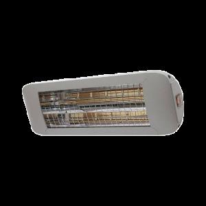 Chauffage d'extérieur ComfortSun 24 - 1000W Ultra Low Glare - Titane