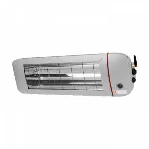 Chauffage d'extérieur ComfortSun 25 + télécommande - 2000W Low Glare - Do Heat - Titane