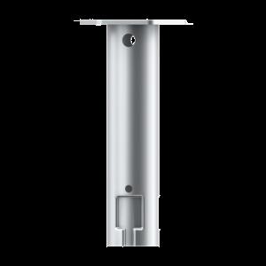 Platine plate pour fondation à vis - Embout Hexagone M12