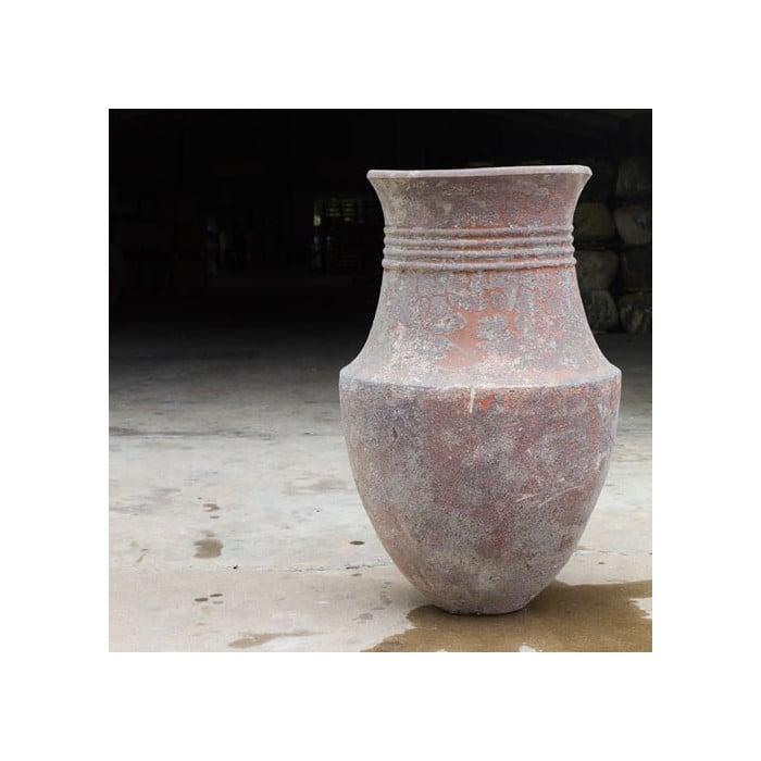Exemple d'aménagement extérieur avec poterie Phoenician n°2