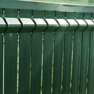 kit occultant clôture rigide nature bois concept 1,93 m vert
