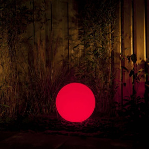 Lampe boule lumineuse Led éclairage extérieur