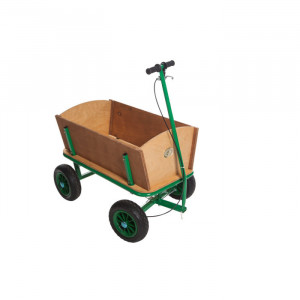 Chariot de plage en bois pour enfant - Jouet enfant - Véhicule