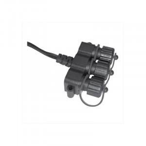 Câble diviseur 3 raccords pour éclairage LED encastrable terrasse bois