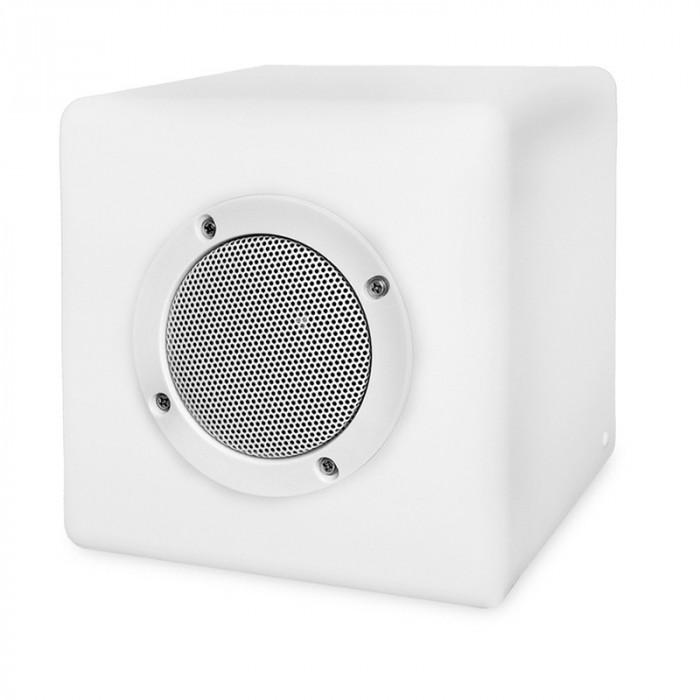 enceinte lumineuse bluetooth cube 15 1 6w gl. Black Bedroom Furniture Sets. Home Design Ideas