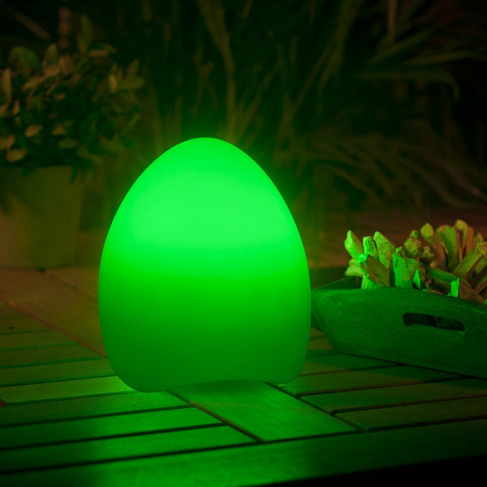 Lumière verte luminaire extérieur LED garden lights egg 2 watt