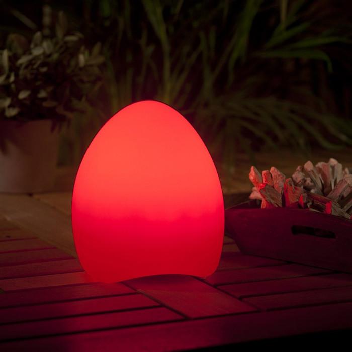 Lampe multicolore LED extérieur