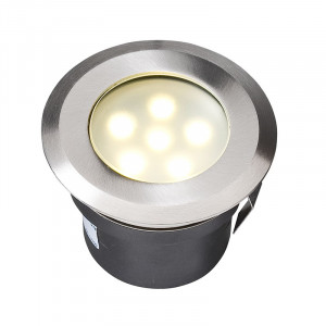 Led encastrable pour terrasse bois sirius garden lights