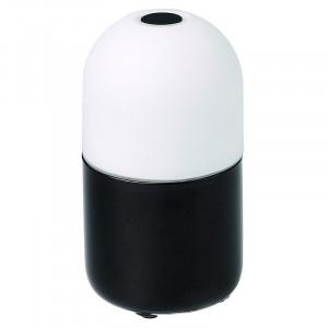 Lampe multicolore LED portative Bean Garden Lights couleur noir