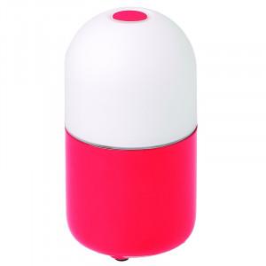 Lampe multicolore LED portative Bean Garden Lights couleur rouge