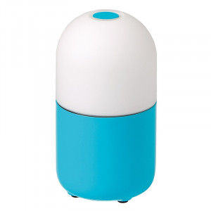 Lampe multicolore LED portative Bean Garden Lights couleur bleu turquoise