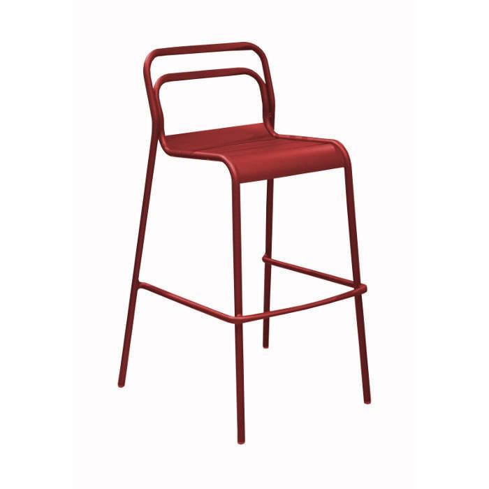 Ensemble de jardin table haute EOS 140 cm graphite et 4 chaises ...