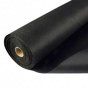 Rouleau de géotextile noir 1x25m - Baland