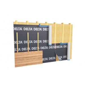 Exemple de mise en oeuvre du bardage bois avec un pare-pluie DELTA VENT S+ DORKEN