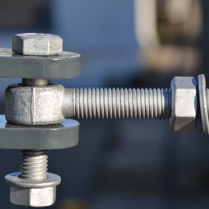Portillon clôture rigide NBC - H1,93m - L1,00m - Acier galvanisé - charnière portillon