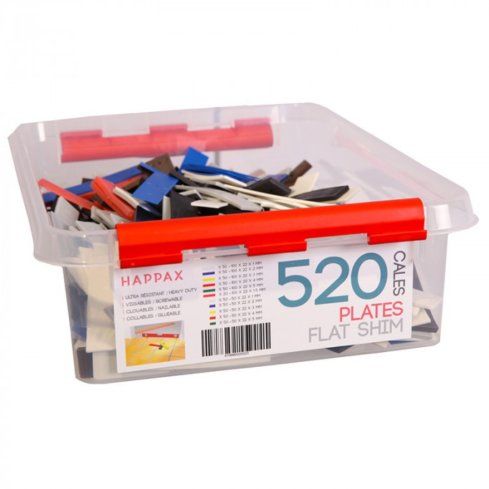 Kit Cales plates Hapax 1/2/3/4/5mm