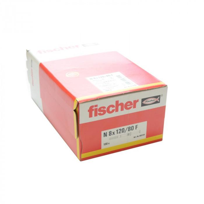 Boîte de 100 chevilles à frapper Fischer 8x120