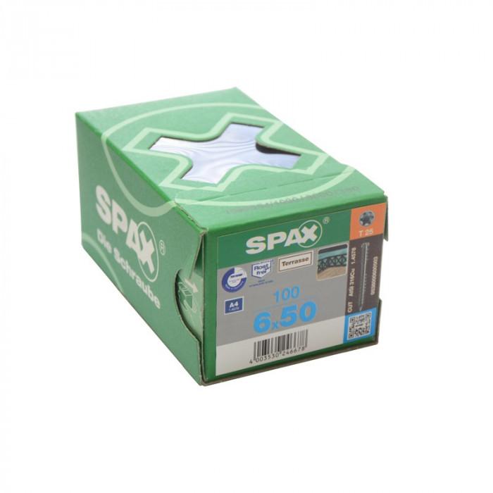 Boîte de vis inox a4 pour terrasse bois