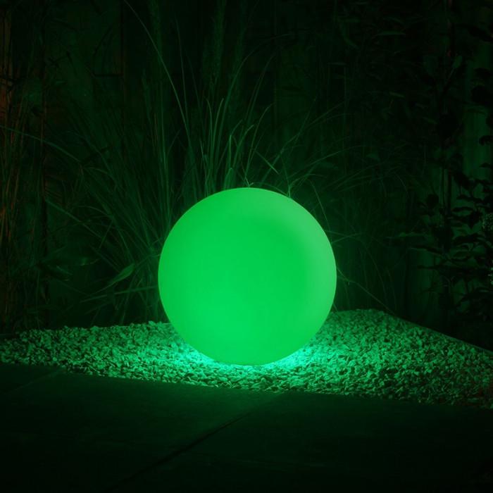 Éclairage extérieur lampe boule lumineuse LED multicolore